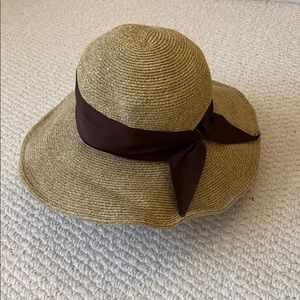 Sun hat with ribbon 🎀